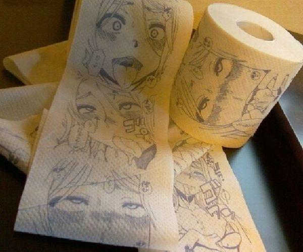 scat manga toilet paper