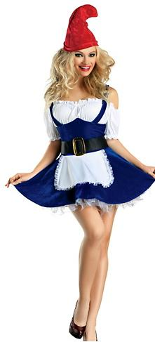Halloween sexy gnome costume