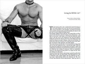 BDSM - Guida per esploratori dell'erotismo estremo (interno 18)