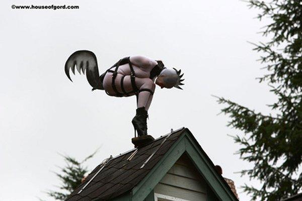 A House of Gord bondage sculpture