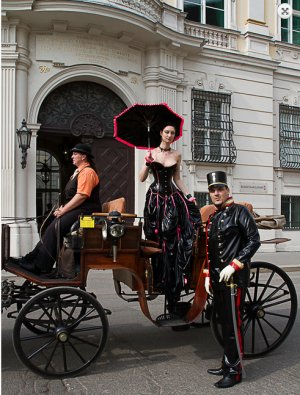 Fetish carriage in Vienna