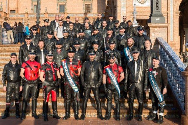 Mr. Leather in Seville