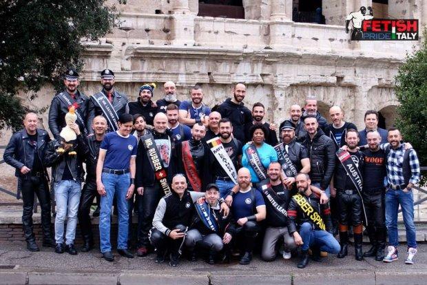 Leathermen al Colosseo