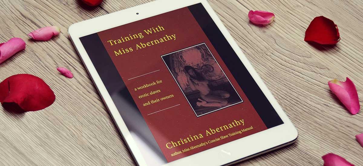 Training with mistress Abernathy