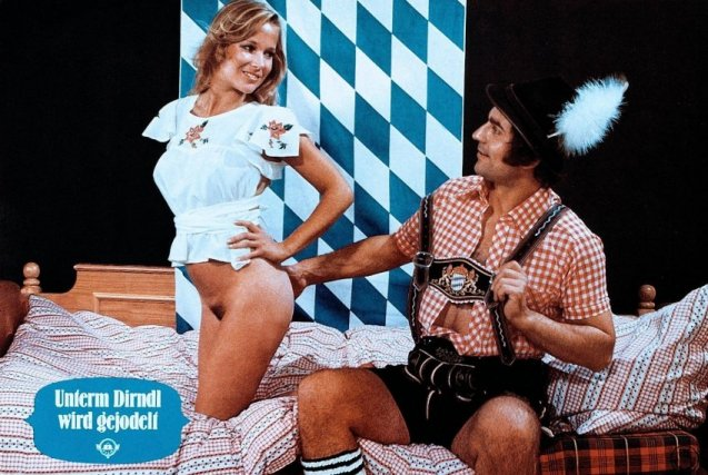 Astounding fetishes from the past: lederhosen sex!