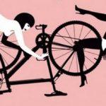 Caccia allo stupratore di biciclette
