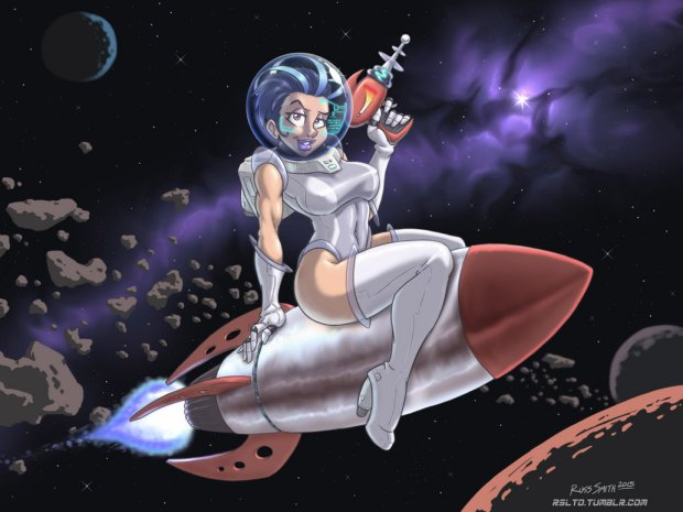 Pinup spaziale