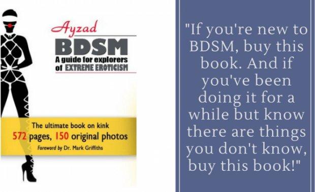 Kayla Lords recensisce il libro di Ayzad sul BDSM