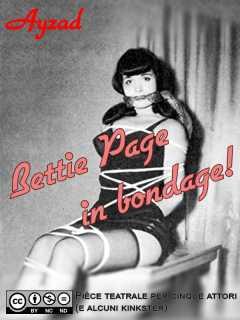 Bettie Page in bondage