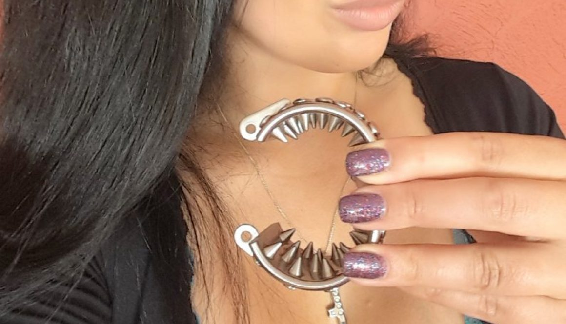 Kali teeth bracelet