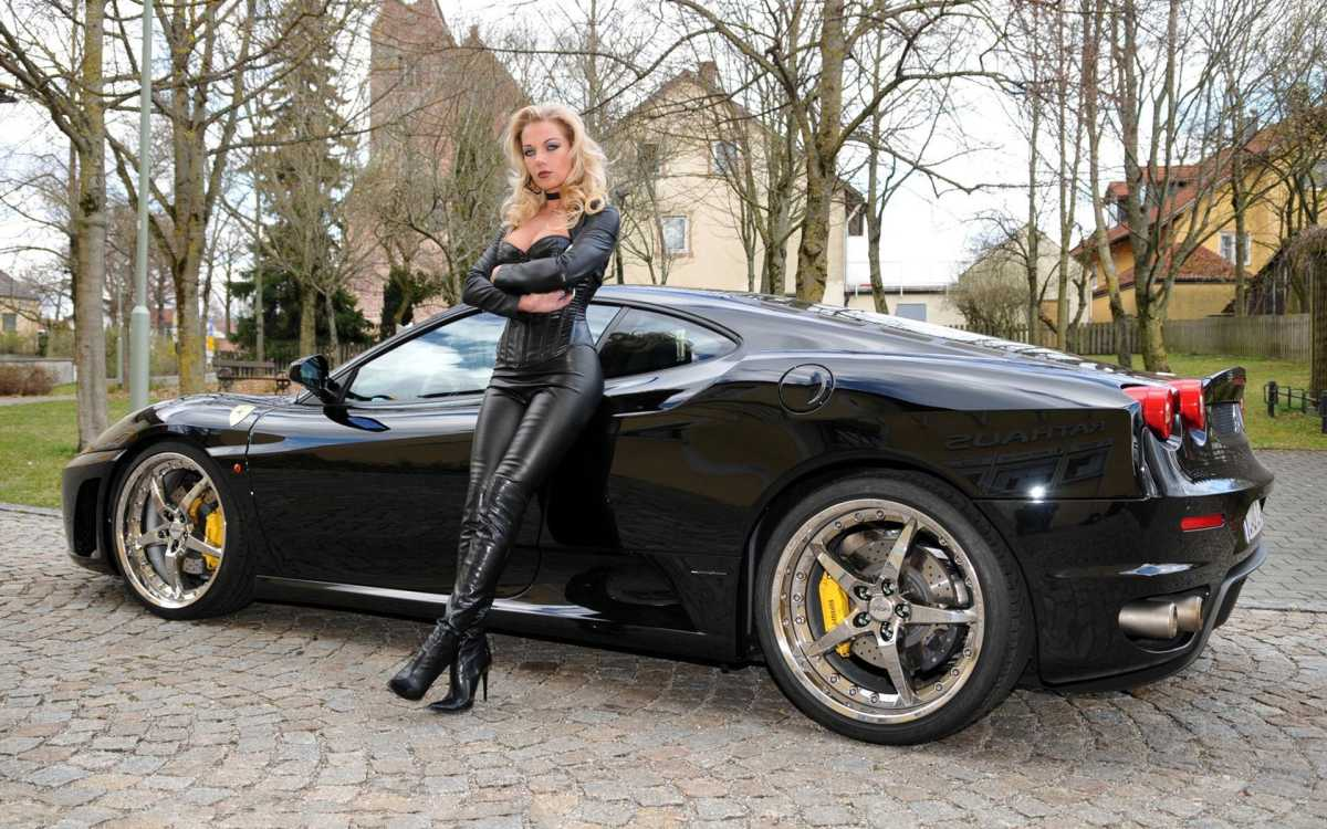 domina with supercar